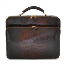 Vasari King Briefcase In Cow Leather